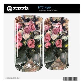 Roses 1 by Lovis Corinth Decal For HTC Hero
