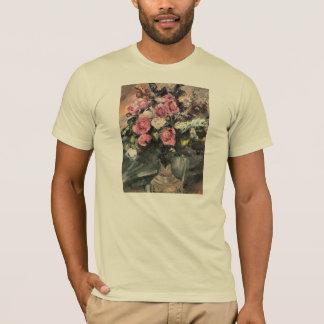 Roses 1 by Lovis Corinth T-Shirt