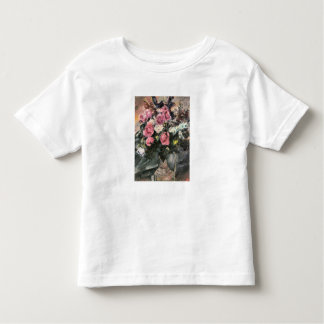 Roses 1 by Lovis Corinth Toddler T-shirt