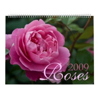 Roses 2009 Calendar