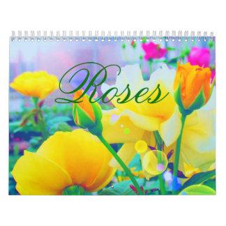 Roses 2018 Custom Calendar