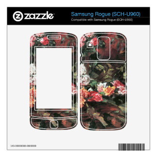 Roses 2 by Lovis Corinth Skins For Samsung Rogue