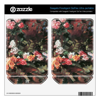 Roses 2 by Lovis Corinth Skin For FreeAgent GoFlex