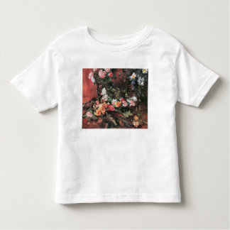 Roses 2 by Lovis Corinth Toddler T-shirt