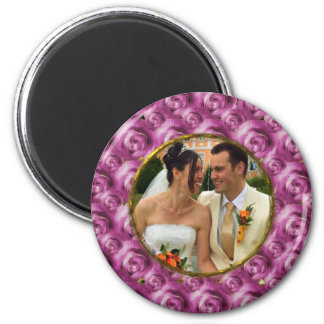 Roses 2 Inch Round Magnet