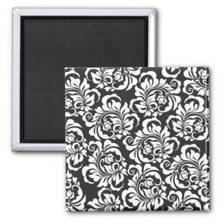 roses 2 inch square magnet