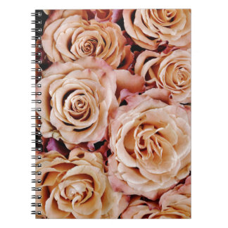 roses-366170 dusty light coral pink natural petals note books