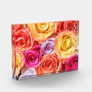 Roses Acrylic Block
