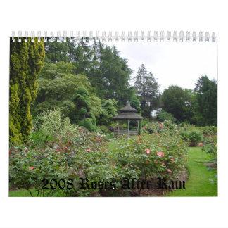 Roses After Rain Calendars