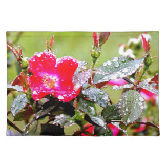 Roses After The Rain Placemat