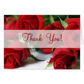 Roses  All Occasion  Thank You Card