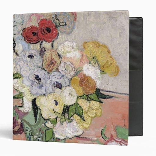 Roses and Anemones, 1890 Vinyl Binder