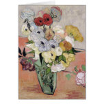 Roses and Anemones, 1890 Greeting Cards