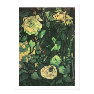 Roses and Beetle, Vincent van Gogh Postcards