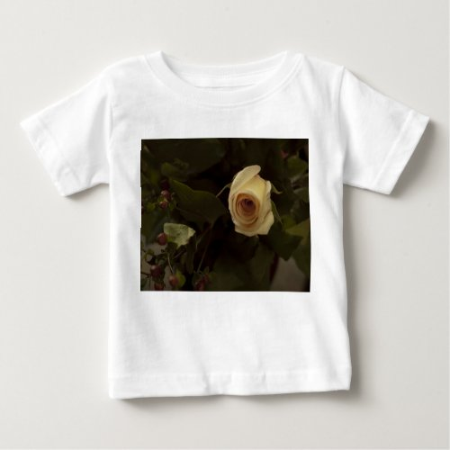 Roses and Berries - Pink Peace Rose Baby T-Shirt