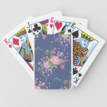 Roses and Butterflies Ornament 4 Bicycle Playing Cards