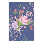 Roses and Butterflies Ornament 4 Stationery