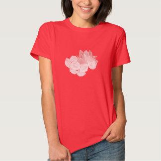Roses and Crystals - Pink Tshirts