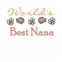 Roses and Daisies World's Best Nana shirt