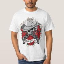 Roses And Guns T-Shirt