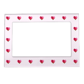 Roses and Hearts Magnetic Picture Frame