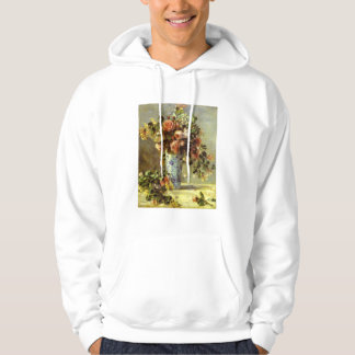 Roses and Jasmine Hooded Sweatshirt