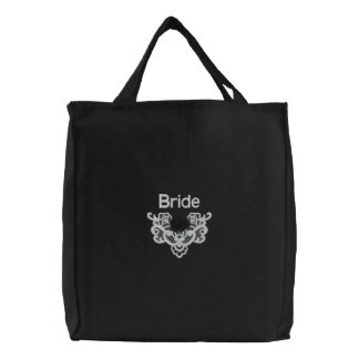 Roses and Lace -  Bride Tote