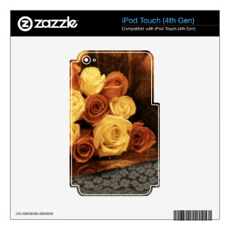 Roses and Lace iPod Touch 4G Decals
