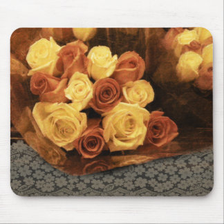 Roses and Lace Mouse Pad