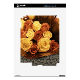 Roses and Lace Skin For The iPad 2