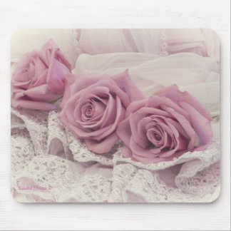 Roses And Lace Still Life Mousepad
