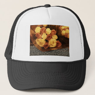 Roses and Lace Trucker Hat