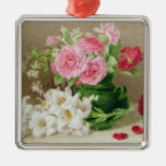 Roses and Lilies Ornaments