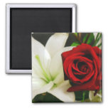 Roses and Lilys_ Magnets