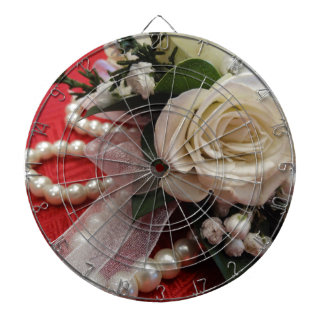Roses and Pearls Dart Boards