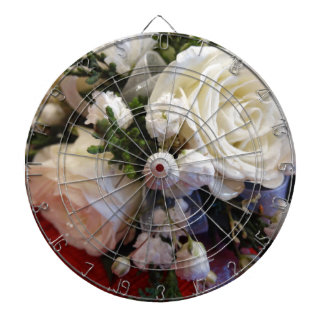 Roses and Pearls Dartboard