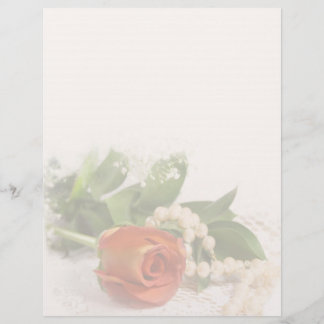 Roses and Pearls Letterhead