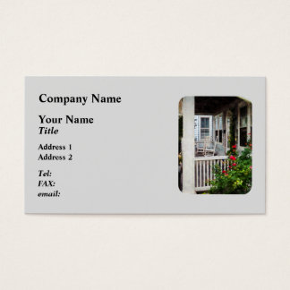 Roses and Rocking Chairs Business Card