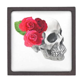 Roses and Skull Gift Box