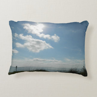 Roses and Sunny day Decorative Pillow