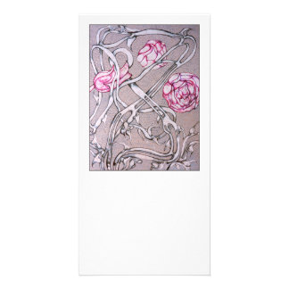 Roses and Thorns. Personalized Photo Card
