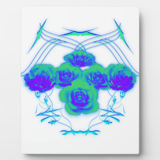 Roses and Tribals Plaque