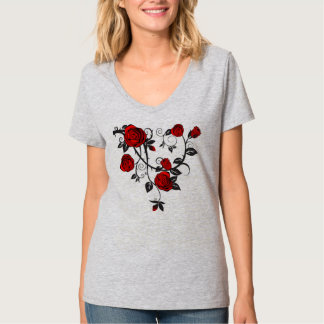 Roses and Vines Tee Shirt