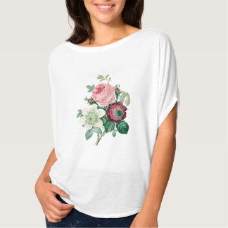 Roses anemones bouquet tee shirt