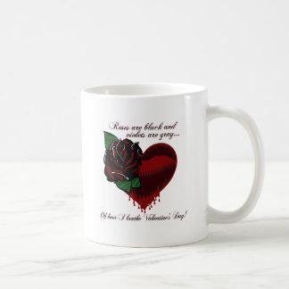 Roses Are Black Poem Coffee Mug