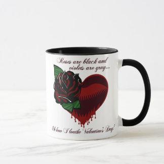 Roses Are Black Poem Mug