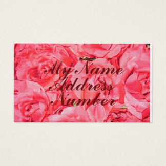 """Roses are Pink""... Business Card"