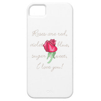 Roses Are Red iPhone 5 Cases