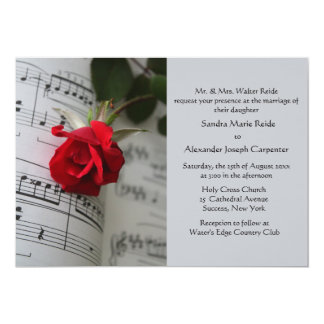Roses Are Red Invitation