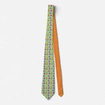 Roses are Sorbet Pattern Neck Tie